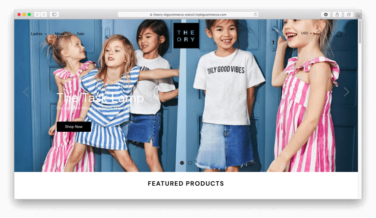 Theory Bigcommerce Stencil Theme